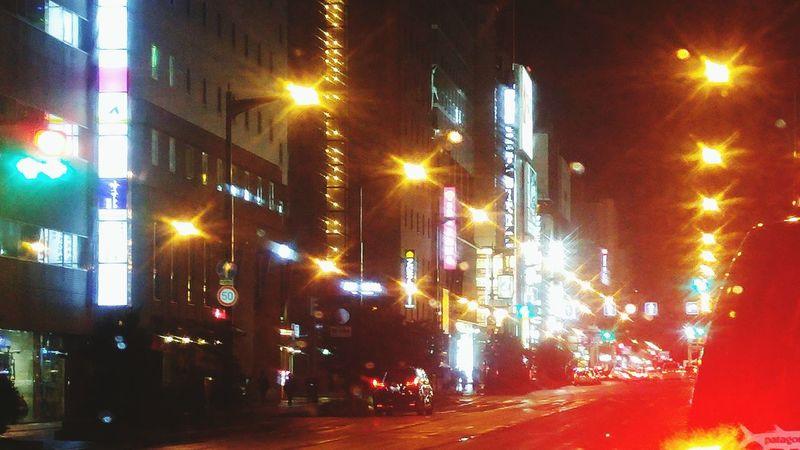 Japan 日本 City Sapporo JP Beautiful Hokkaido Neon Lights Japan Enjoying Life Hello World Love Neon Neonlights Neons ネオン Bright