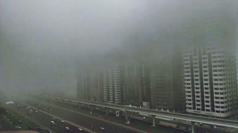 Financialcentre Dubai❤ UAE Skyscrapers What The Fog