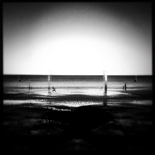 Shed Your Skin Monday.... Blackandwhite Ballet At The Beach... The Year Of The Mermaid....