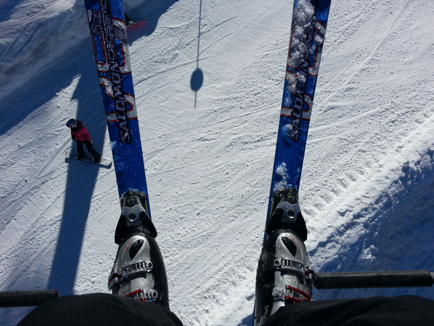 From Where I Stand Skiing Snow