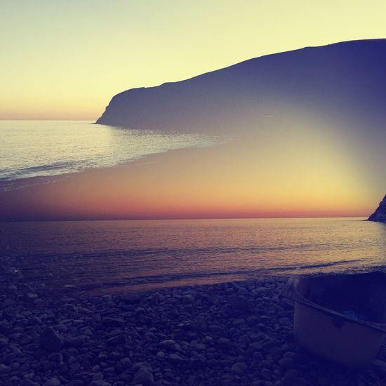 a.m.p.m Double Exposure Melancholic Landscapes Ocean View Dusk