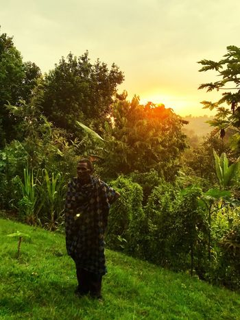 Ethiopia in my eyes Tree Real People Standing Growth Full Length Rear View One Person Nature Field Plant Men Beauty In Nature Outdoors Sunset Sky Day Grass People Africa The Great Outdoors - 2017 EyeEm Awards The Street Photographer - 2017 EyeEm Awards Ethiopia Ethiopian Photography Ethiopian Photography 🇪🇹 EyeEm Selects