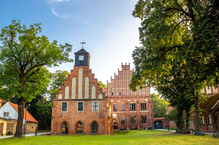 Kloster Zinna Abbey Church Kloster Zinna Zinna Architecture Building Exterior Built Structure Day No People Outdoors Religion Sky Village