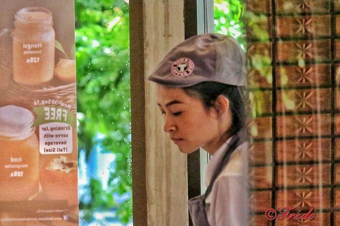 Isn't She Lovely? Woman Who Inspire You Woman Portrait Women Portraits Tom&tom's Coffee Tom&Toms Chiangmai Thailand Thailand_allshots Thaistagram