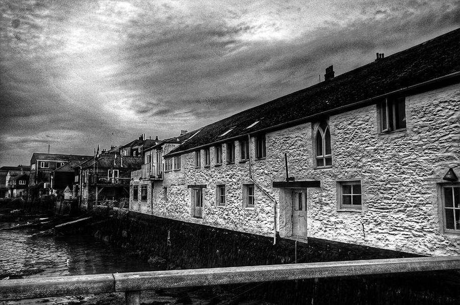 EyeEm Best Edits Houses And Windows Buildings Outdoors Walking Around For The Love Of Photography My Unique Style Taking Photos Blackandwhite Falmouth Pentax K-50 Black & White Blackandwhite Photography