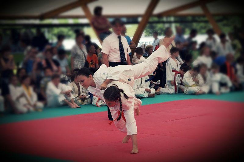 Bestmöglicher Einsatz von Körper und Geist Sport Daughter Tochter Judoeducazione Judoka Judo Is Life Judo Performance