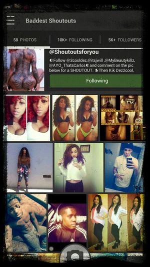follow @shoutoutforyou