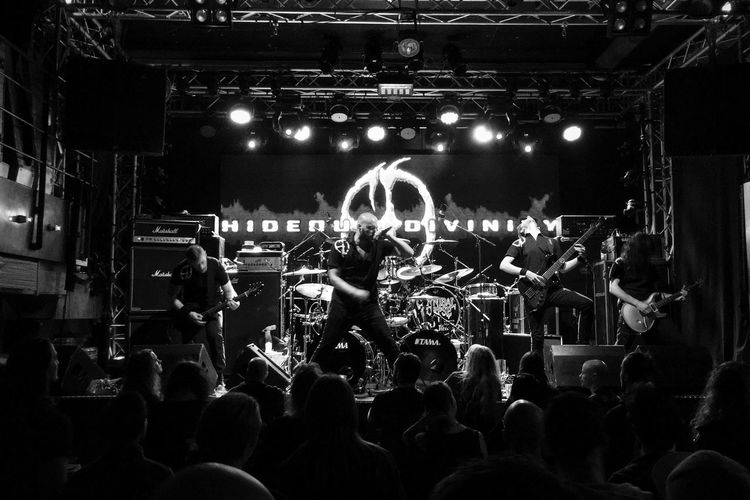 .::Hideous Divinity::. MADE IN SWEDEN Awesome Performance Concert Photography Good Sound Death Metal Concert Music Live Music Black And White Excellence Black And White Great Venue Metal Brutal Death Metal Death Brutal Rocking Out