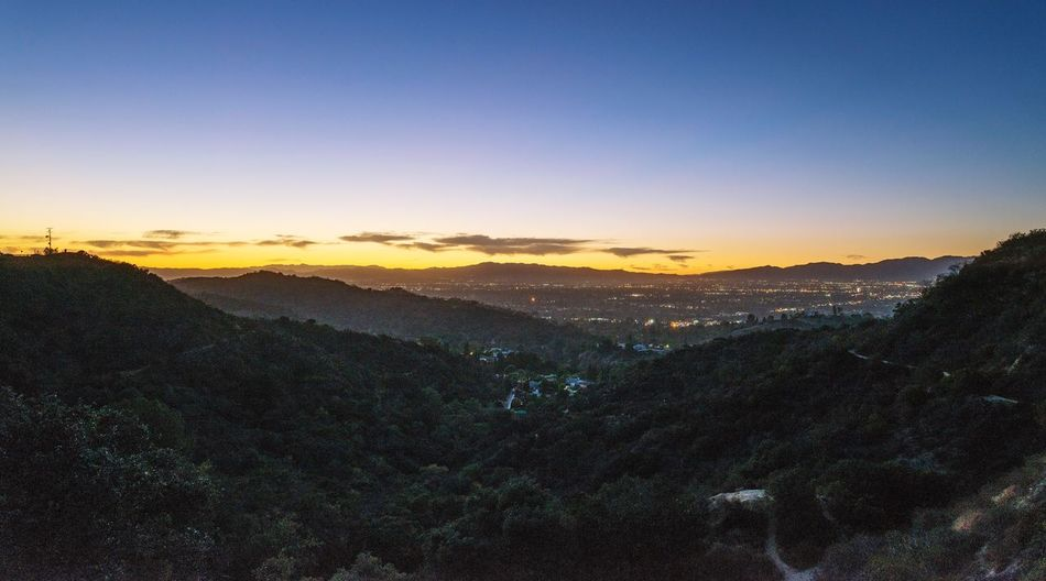 Mulholland Drive Laurel Canyon Sunset California Los Angeles, California Los Angeles Sunset California Sunset Hollywood