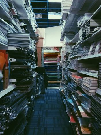 i just wanna hide here and touch every piece of paper. Warehouse Day Stack Shelf Business Urban Photography Vanishig Point PapersIndoors  No People Paperstack Papercraft Arts And Crafts Art Shop Art Store Getting Inspired Art Is Everywhere Beauty In Everything Urbanexploration