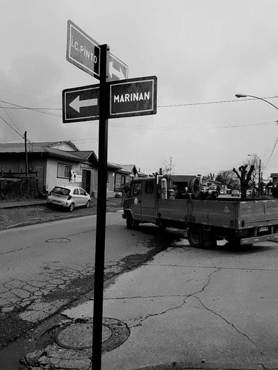 Rural Scene Calle No People Day Transcience Tranport City Capture The Moment Visionphotography Chile Blanconegro Black & White Photography