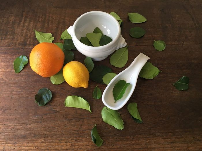 Table High Angle View Food And Drink Leaf Freshness Beauty In Ordinary Things Arrangement Lemons Oranges Indoors  StillLifePhotography