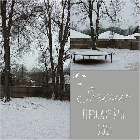 It snowed y'all! Snowpocalypse