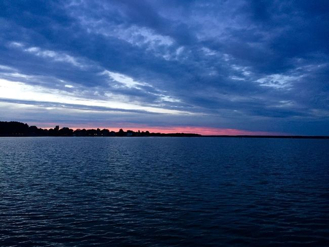 Beauty In Nature Cloud - Sky Day Nature No People Outdoors Reflection Scenics Sea Sky Sunset Tranquil Scene Tranquility Water