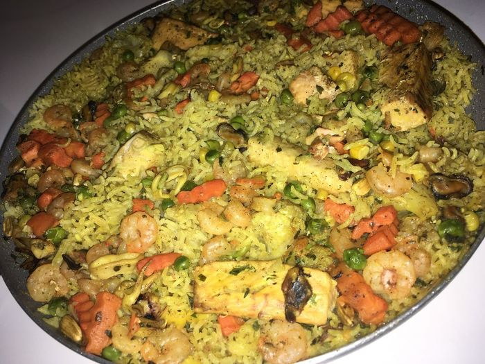 Paella Moroccan