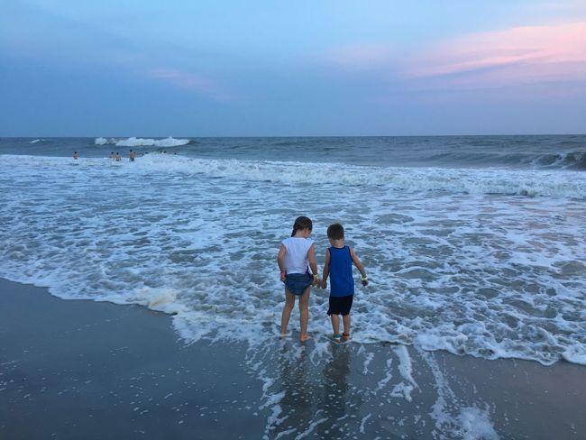 Summer Life Is A Beach Traveling Children