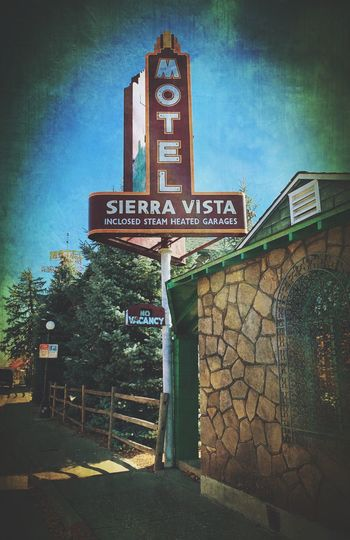 """Motel Sierra Vista"" An historic Motel right on Route 66 in Flagstaff, Arizona. Travel Destinations Travel Arizona Historic Architecture Historic Building Route 66 Historic Motel Motel Architecture Built Structure Building Exterior"