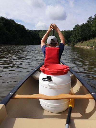 EyeEm Selects Water Nautical Vessel Oar Kayak Tree Lake Sitting Life Jacket Rowboat Life Belt Paddling Canoe