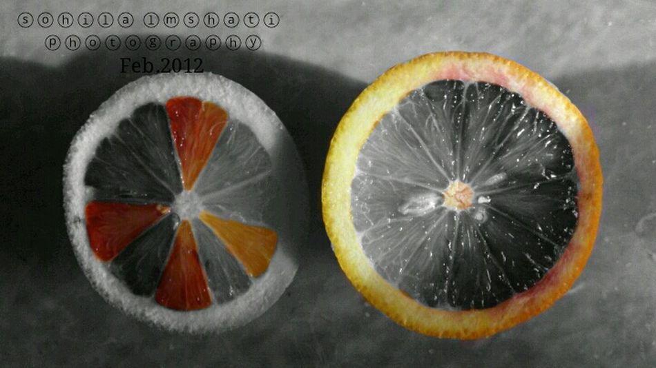 Color Splash Orange Juce <3