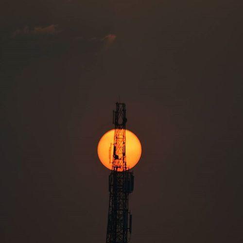 Tower Sunset Nikontop Nikond3200 Xraygraphy