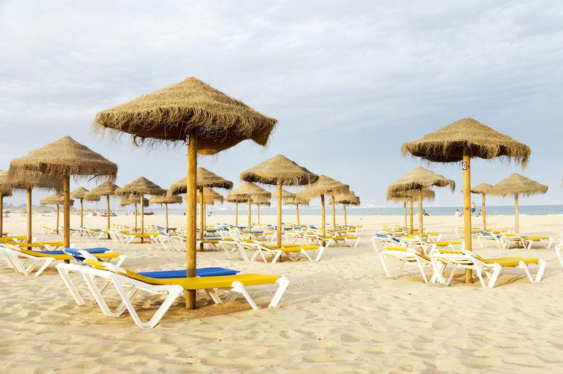 Beach Beds On Beach