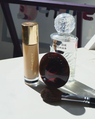 Today's make-up Makeup Maquillage Parfum GirlsStuff Sun Shadows Summeriscoming