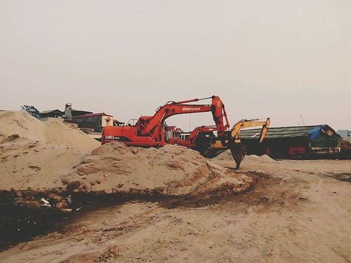 Halong Caoxanh Xom Cymera Old Construction Sand Sky SandMountain