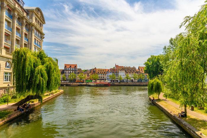 Alsace Ancient Architecture Building City Cityscape Europe Historical Scenics Sky Travel