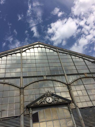 2017 Architecture Built Structure Low Angle View Cloud - Sky Sky Building Exterior No People Day Outdoors Market Hall Marché Couvert Les Halles Deux-Sèvres