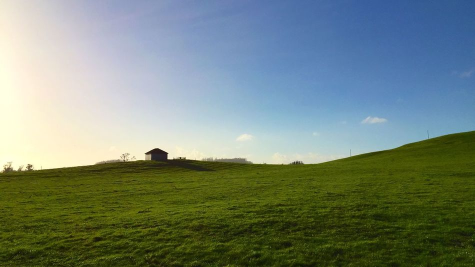 Fields Sky Pump House Pasture Sonomacounty The Great Outdoors - 2015 EyeEm Awards