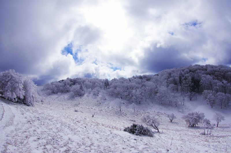 Mountain View Nature Snow Nara Miune Landscape