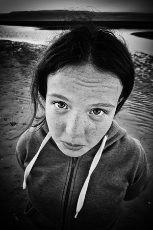 Beach Black And White Black And White Photography Black And White Portrait Blackandwhite Blackandwhite Photography Bnw_friday_eyeemchallenge Casual Clothing Cloesup Close Up Close-up Headshot Person Portrait Wide Angle Wideangle Up Close Street Photography The Portraitist - 2016 EyeEm Awards Monochrome Photography