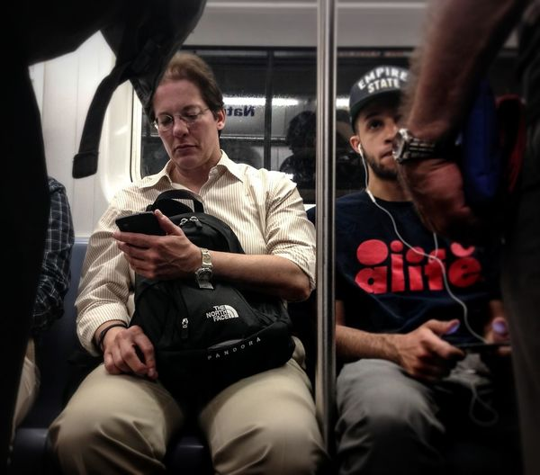 One of those nights when the commute home feels like a scene from SNL | #commute #mta #snl #nyc #itspat i <3 nyc! #timyoungiphoneography | Saturday Night Live NYC Commute Timyoungiphoneography