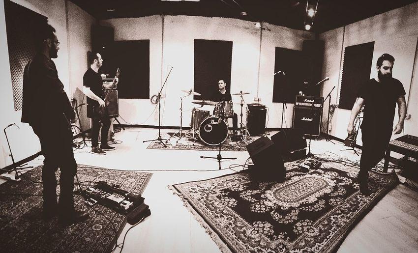 """Registrando il video di """"Impressioni di settembre"""". Mataleòn PFM Band Music Rock Alternative Videoclip Musicvideo"""