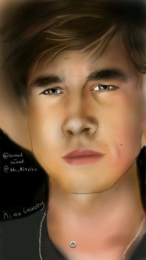 EyeEm must allows us to share videos ..ugh ! .. anyways this my drawing of kian lawley its finally finished ? i made a video showing the steps of this artwork .. go check it out on instagram : @shahad_ahmed Kian Lawley O2l Our2life Kianandjc
