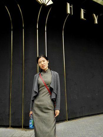 Shanghai Woman Qipao Artdeco Hey  Contrast China French Chinese Girl Travel