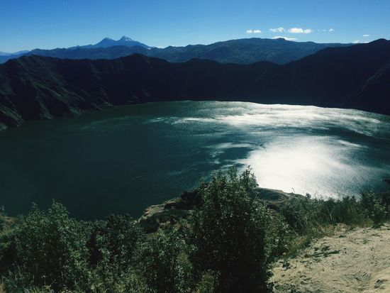En hermoso Quilotoa