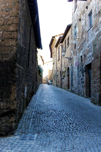 Orvieto, Italy Travel Travel Photography Traveling Architecture Building Exterior Built Structure Cobblestone Day Italian Italy No People Orvieto Outdoors The Way Forward Travel Destinations Walkway