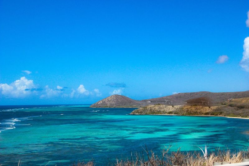 Travel Photography St Croix Rickeherbertphotography Turquoise Ocean View Wanderlust Great View Sea Beauty In Nature Blue Water Scenics Tranquil Scene Tranquility Nature Idyllic Outdoors No People Horizon Over Water Beach Day Landscape Sky