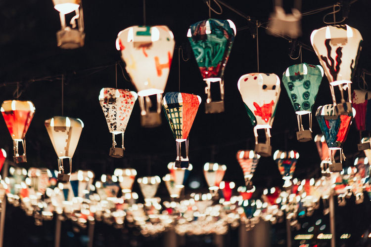 Lantern Large Group Of Objects Choice No People Variation Hanging For Sale Retail  Multi Colored Indoors  Close-up Selective Focus Focus On Foreground Heart Shape Abundance Market Lighting Equipment Design Store Illuminated Art And Craft Retail Display Lanterns Lantern Chinese New Year 2019