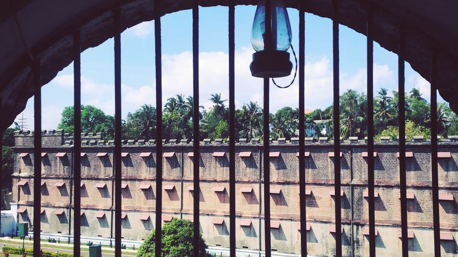 Cellular Jail Caged Freedom Freedom Fighters Lamp Light Andeman Portblair