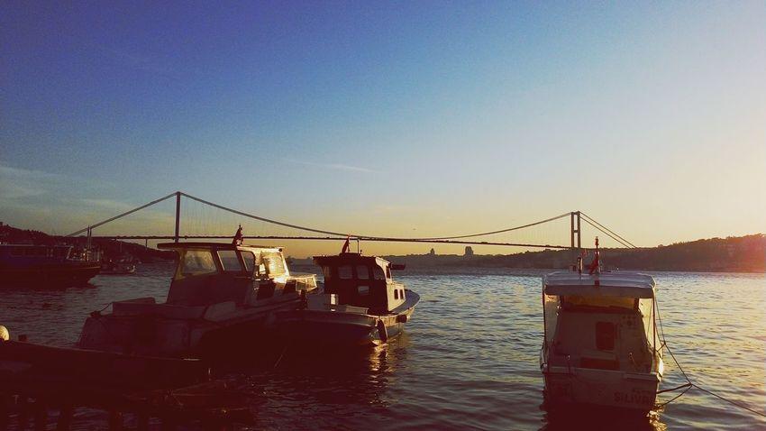 Bosphorus Bridge Istanbul Turkey Relaxing