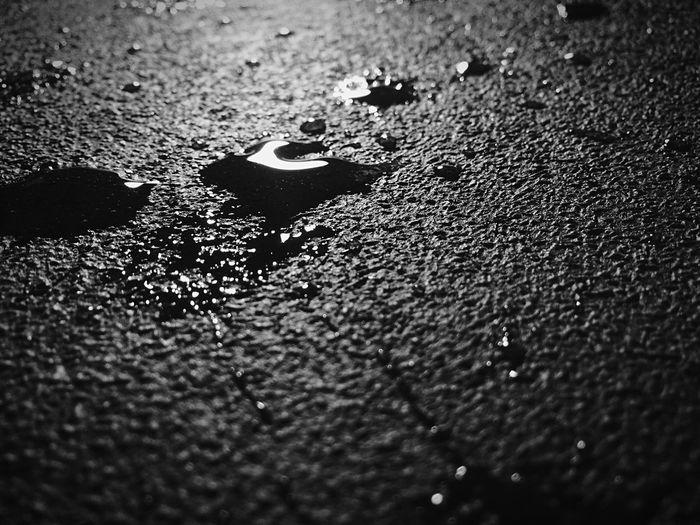 Raw Ap Art Class Black And White Photography Blackandwhite EyeEm Best Shots - Black + White Water Liquid On Floor Drops Deadly EyeEmNewHere