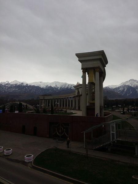 Architecture Built Structure Sky Outdoors Cloud - Sky Almaty, Kazakhstan Street Photography Architecture