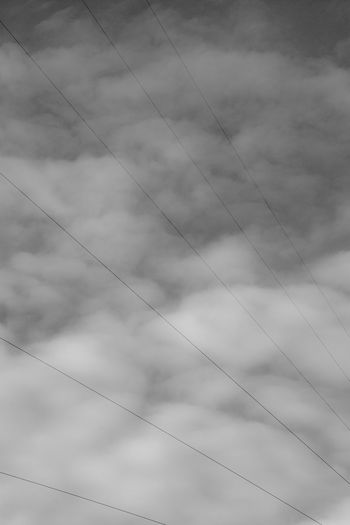 Abstarct Lines Shapes Tranquility Blackandwhite Cloud - Sky Clouds And Sky Day Geometry Scenics