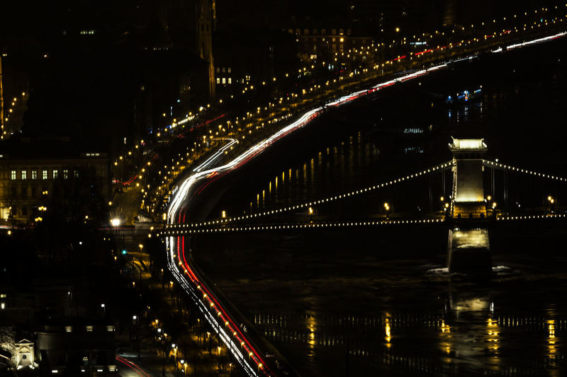 Architecture Bridge Bridge - Man Made Structure Building Exterior Built Structure City Cityscape Connection Illuminated Night No People Outdoors Reflection River Transportation Travel Destinations Water HUAWEI Photo Award: After Dark