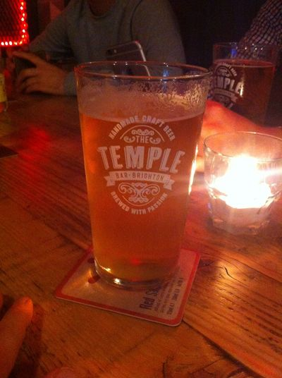 Burning Sky Session IPA @ Temple Bar Brighton Bier Biers & Bars Craftbeer