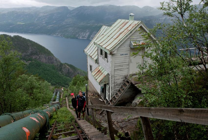 4444 steps 4444 Steps Fjordsofnorway Florli Flørli Hiking Norge Norway Stairs Boys Built Structure Fjord Ilovenorway Lysefjorden Mountain Nature Outdoors People Real People Rogaland
