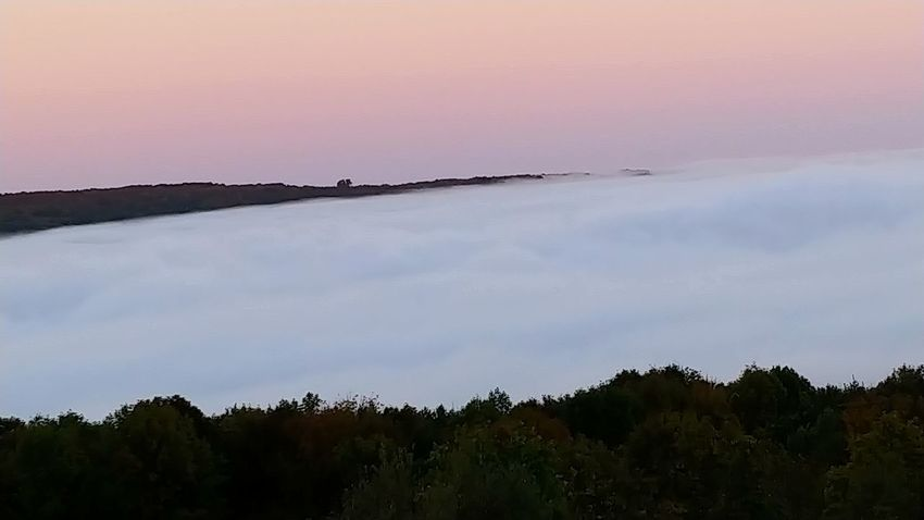 Clouds over Canadice LG V30 Robs Trail Nature Clouds And Sky Morning Light Sunrise Sunrise_Collection Good Morning Sunshine Nature Reserve Forest Silhouette Outdoor Pursuit Sky