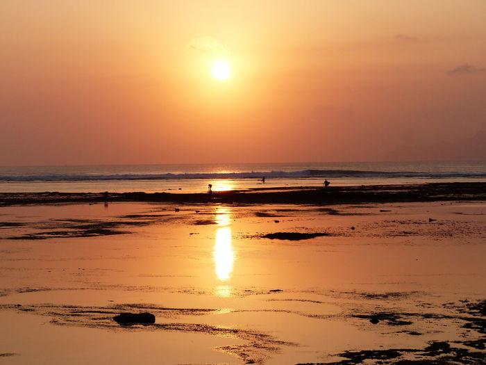 Beautiful sunset TakeoverContrast Banyuwangi Red Island INDONESIA Sunset